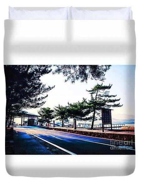 Miyajima Duvet Cover
