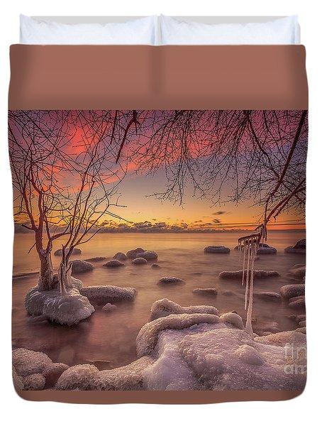 Mke Freeze Duvet Cover