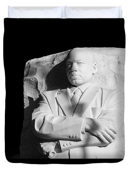 Mlk Memorial Duvet Cover