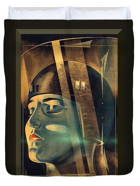 Metropolis Maria Transformation Duvet Cover