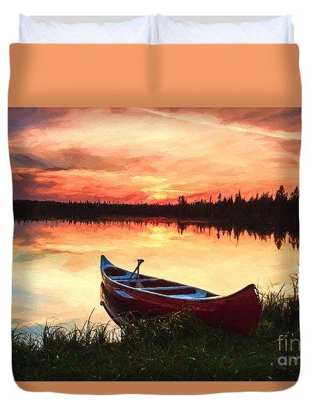 Mn Sunset 2 Duvet Cover