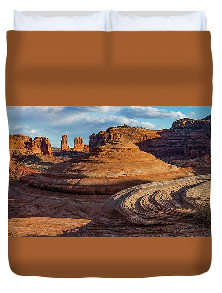 Moab Back Country Panorama 2 Duvet Cover
