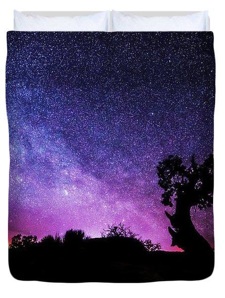Moab Skies Duvet Cover