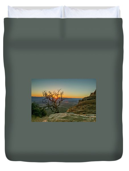 Moab Tree Duvet Cover