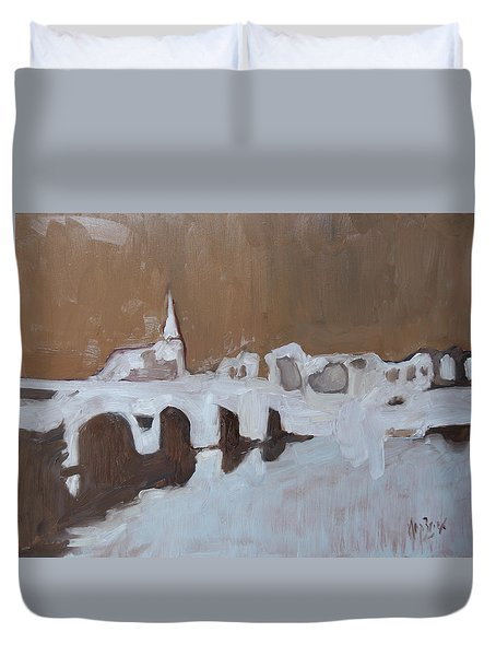 Moasbrogk In Brown Tints Duvet Cover