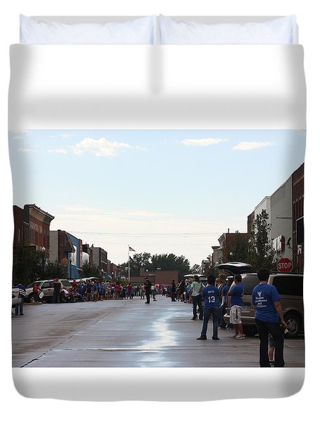 Moberly Homecoming Duvet Cover