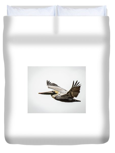 Mobile Bay Pelican Duvet Cover
