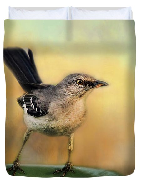 Mockingbird Duvet Cover