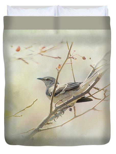 Mockingbird II Duvet Cover