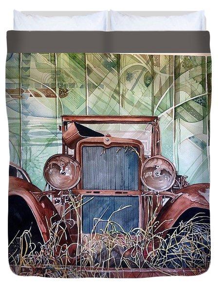 Model A Duvet Cover by Lance Wurst