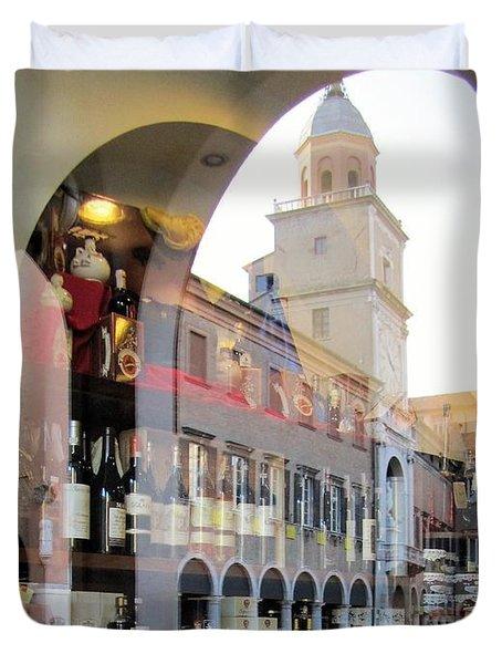 Modena, Italy Duvet Cover