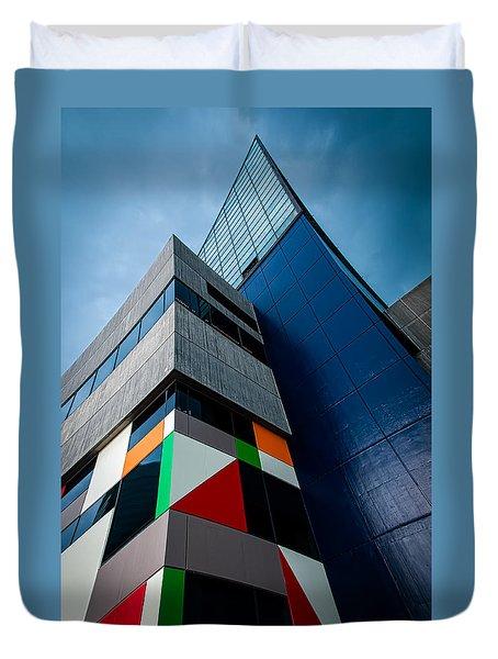 Modern Architecture Duvet Cover
