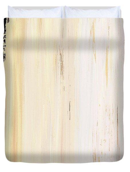 Modern Art - The Power Of One Panel 3 - Sharon Cummings Duvet Cover by Sharon Cummings