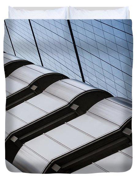 Lloyds Building Bank In London Duvet Cover