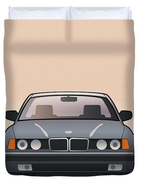 Modern Euro Icons Series Bmw E32 740i  Duvet Cover