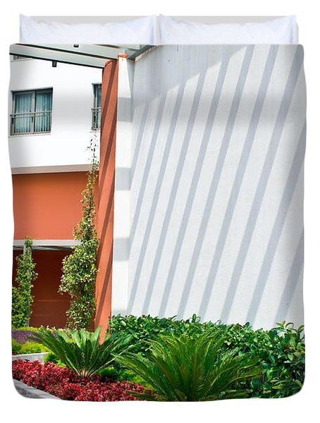 Modern Garden Duvet Cover
