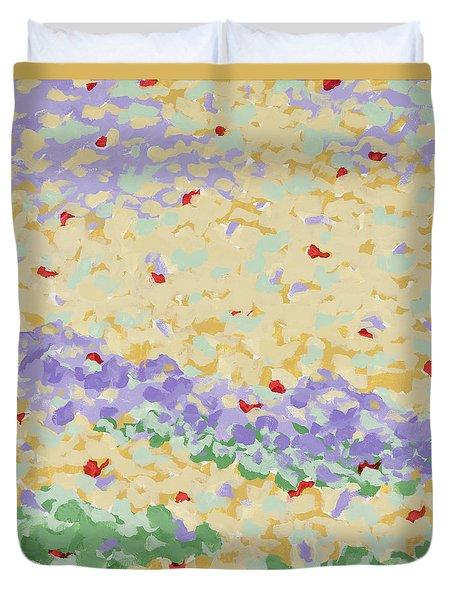 Modern Landscape Painting 4 Duvet Cover