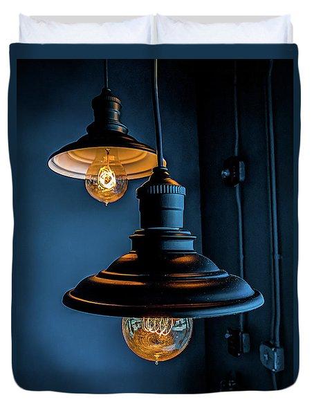 Modern Lighting Duvet Cover
