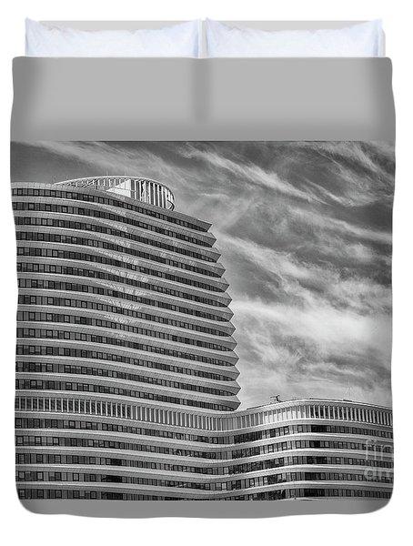 Modern Office Building Duvet Cover