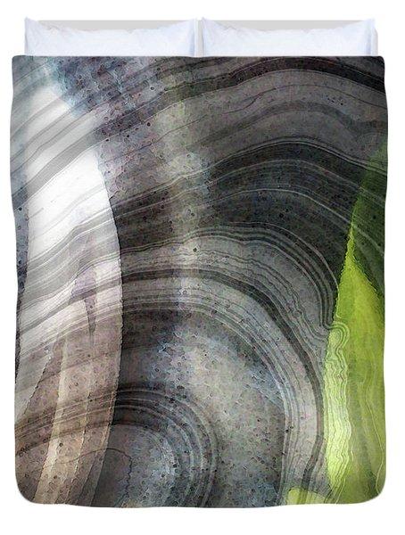 Modern Spirit Art - Open Soul - Sharon Cummings Duvet Cover