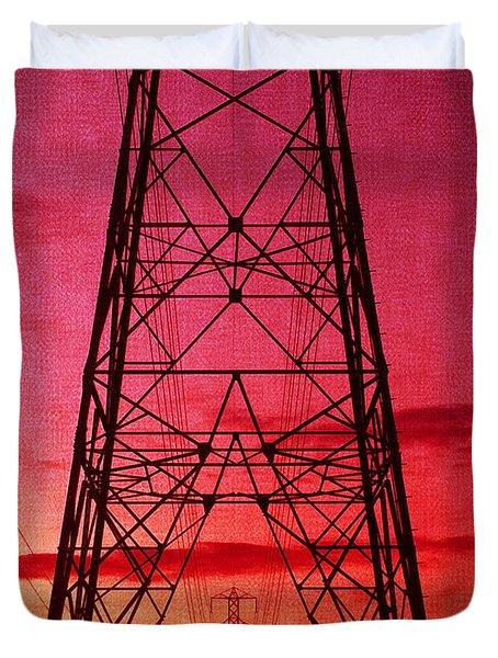 Modern Sunset Duvet Cover