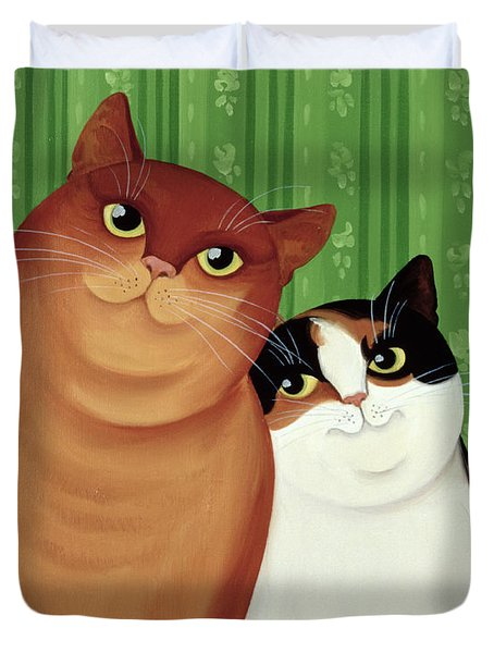 Moggies Duvet Cover