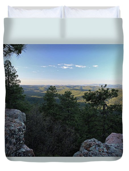 Mogollon Morning Duvet Cover