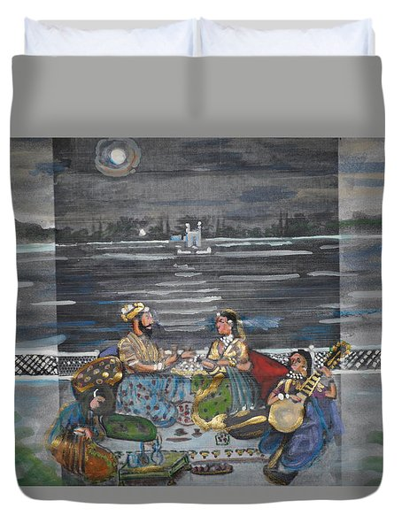 Mogul Moonlight Duvet Cover by Vikram Singh