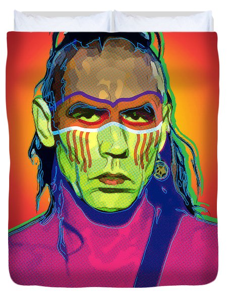 Mohawk Duvet Cover by Gary Grayson
