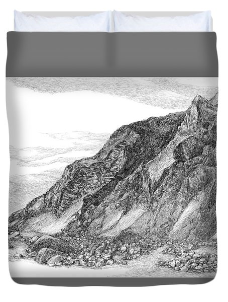 Mohegan Bluff Block Island Duvet Cover