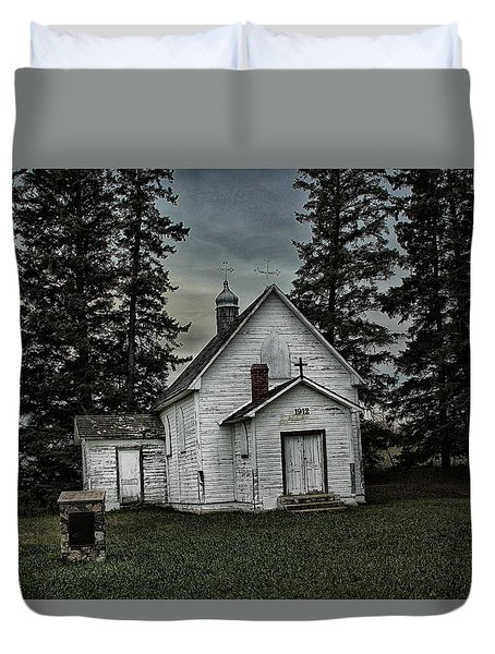Mohilla Church Duvet Cover