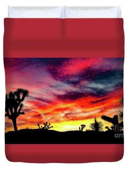 Mojave Sunset Duvet Cover