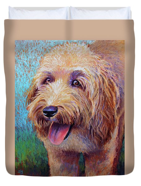 Mojo The Shaggy Dog Duvet Cover
