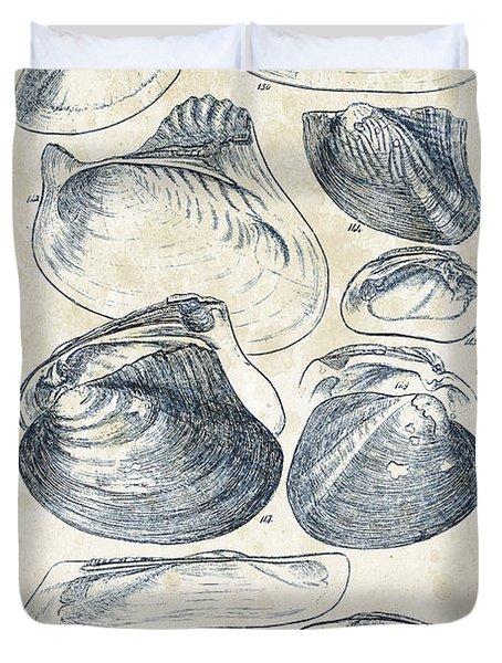Mollusks - 1842 - 08 Duvet Cover
