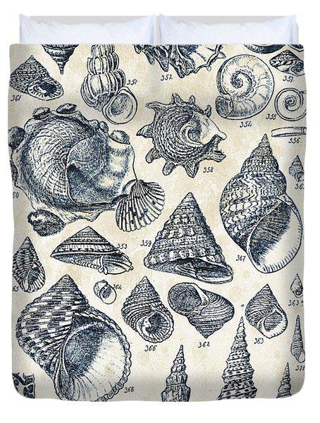Mollusks - 1842 - 16 Duvet Cover