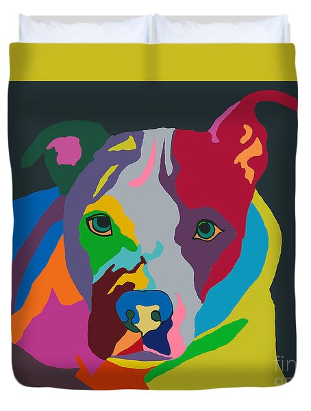 Molly Psychedelic Duvet Cover