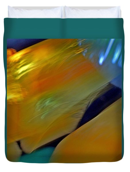 Molten Abstract 2 Duvet Cover