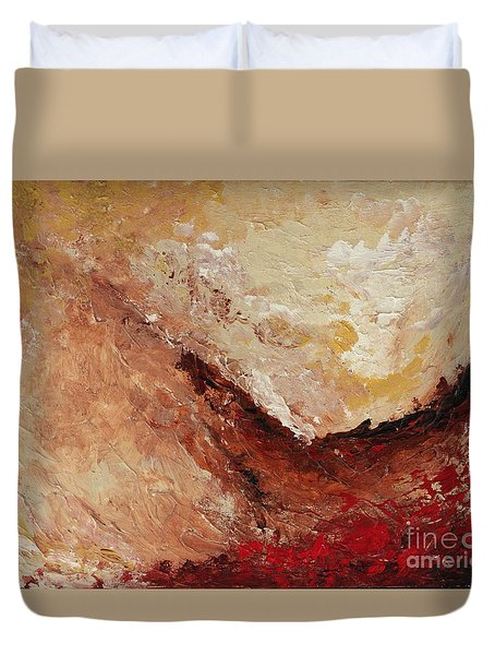 Molten Lava Duvet Cover