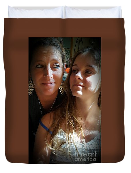 Mom Moments Duvet Cover