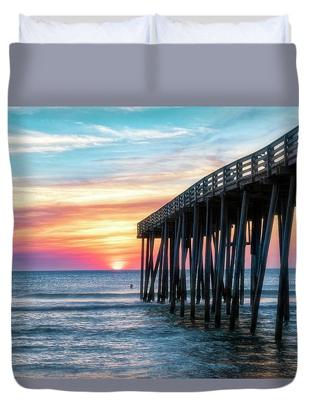 Duvet Cover featuring the photograph Moments Captured by Russell Pugh
