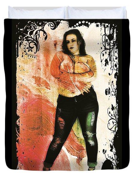 Mona 2 Duvet Cover by Mark Baranowski