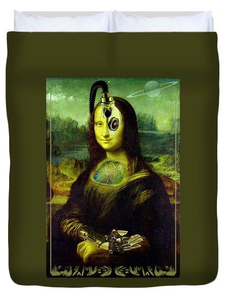 Mona Lisa Borg Duvet Cover