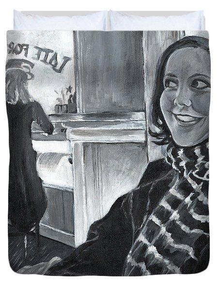 Mona Sandra  Duvet Cover