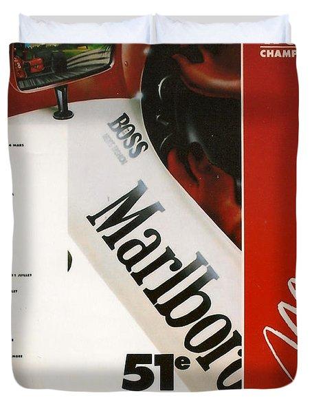 Monaco F1 1993 Duvet Cover