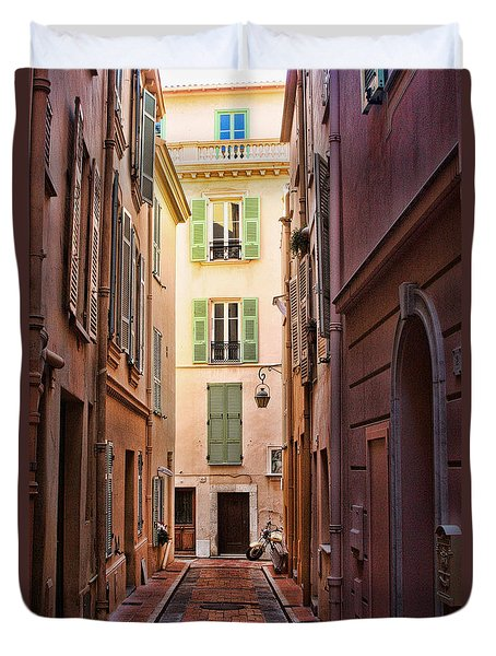 Monaco Street Duvet Cover