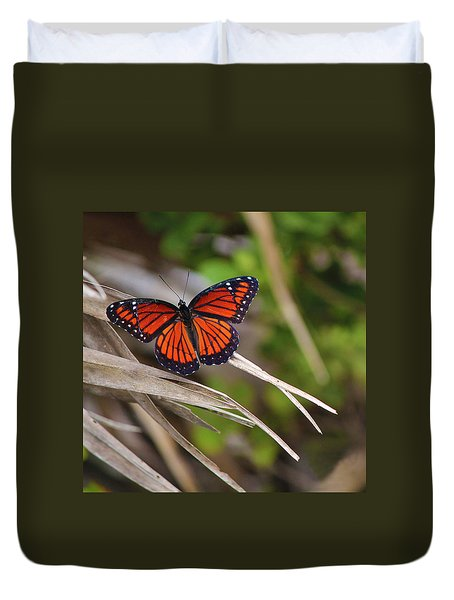 The Monarch  Duvet Cover