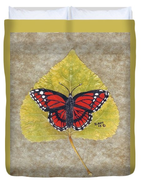 Monarch Butterfly Duvet Cover by Ralph Root