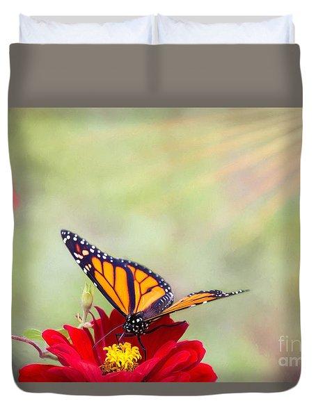 Monarch Magic Duvet Cover