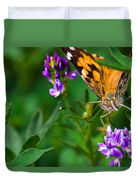 Monarch Duvet Cover by Marlo Horne