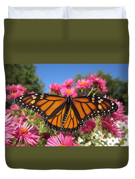 Monarch Wings Duvet Cover by MTBobbins Photography